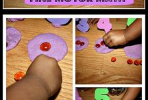 Maths action station ideas