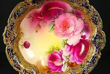 gyönyörű porcelánok