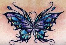 butterfly taťòo s