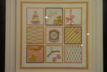 Stampin' Up! Framed Art