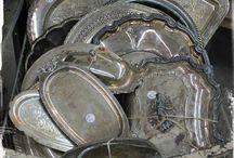 srebra / porcelana