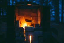 Raw. / Raw lifestyle. Wood. Fire. Nature.
