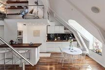 Dream: desk at the attic