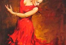 "Flamenco / In celebration of De Falla's ""El Amor Brujo"""
