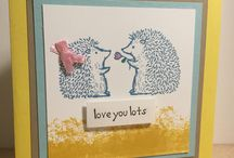 Bobcrafts / Cards made in my fabulous craft attic using products from stampin up and hero arts.