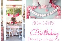 Little Mermaid Birthday Party Ideas / by Kelly-Ann Krawchuk
