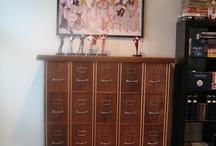 Comics cabinet