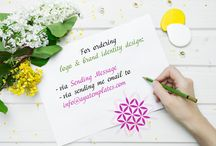 """Order Logo Design / For ordering logo & brand identity design: ✓ via """"Send Message"""" here in Pinterest ✓ via sending me email to info@ayatemplates.com  If you are looking for a designer to create a clean, professional and unique design for you, then you've come to the right place. My designs are the perfect mix of style, beauty and business. Let me help you establish a genuine and impressive web presence in the Internet."""