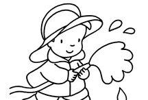Kleurplaten voor kinderen / Kleurplaten / by Claire