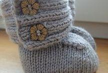 Petetes que inspiran... / Inspiración para tejer, coser y realizar calcetines, zapatos, sandalias y botas para pies pequeñitos de bebés y niños. Tutoriales, esquemas y patrones.