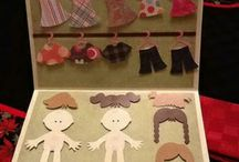 Paper Dolls and paper clothes