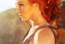Art _ Red Hair