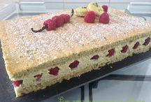 dessert framboisier