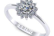 Inele de logodna cu diamante / Am adunat aici cele mai frumoase modele de inele de logodna cu diamante pentru femeia pe care o iubesti mai presus de orice...