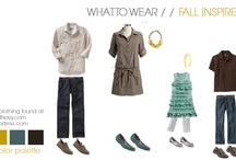 Photo session clothing styling