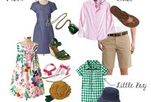 Say cheese...... / Family picture outfit combos  / by Michelle Kemner