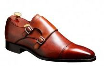 Mens monk strap shoes / Mens monk strap shoes by Barker Shoes and Loake