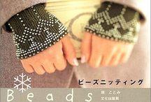 beaded knitting - Perlenstrickerei