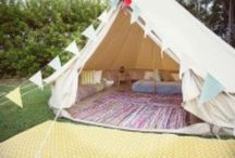 Festival Bells / Festival bell tent villages from The Stylish Camping Company