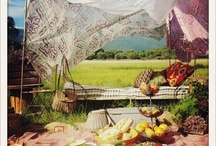 Picknick / Food and Inspiration for a picknick in the park.