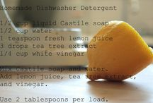 Homemade detergent  / by Jennifer Neugin