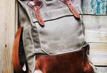Rugged Bags / A myriad of bag-making inspiration with a focus on washable paper (Kraft-tex).