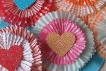 Muffin cup crafts