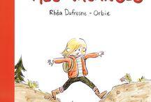 ORBIE - Mes livres/ My books / Illustrations de mes livres jeunesse. Illustrations from my kids books