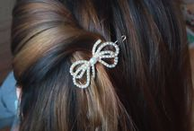 Hair clips and Hairstyles