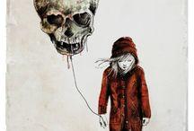 StreetArt&₽áInfÙŁ☠ / Skull&SadGirl