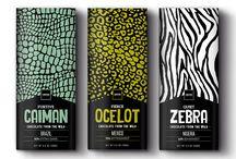 Chocolat Design / Les tablettes de chocolat, nouvel espace de création graphique.