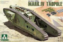 WWI tanks