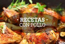 Recetas con Pollo / Recetas hechas con carne de Pollo Granjas RYC