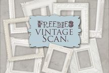 Vintage / Vintage design ideas and freebies