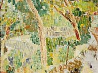 Grace 'Cossington' Smith / In 1915 she created the first Australian 'post impressionist' painting.