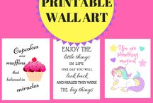 Printables! / All the printables to make life easier and better!  You'll find organization printables, planner printables, printables for kids, buget binder printables, free printable calendars, letters, bullet journal printable freebies, home decor printables, printable wall art, and any kind of printable that will simplify life.