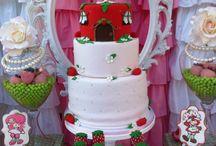 Strawberry shortcake feestje