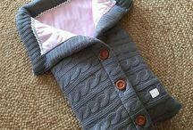 örgü tulum battaniye