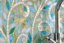 Mosaic bathrooms/splashbacks