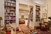 rooms with books / some libraries but mostly unexpected rooms / by Kate Jeter