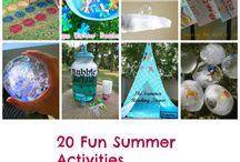 Summertime Fun in the Sun / We're pinning fun things to do in the Summer! Join us and enjoy the season.