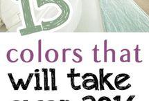 2016 colours