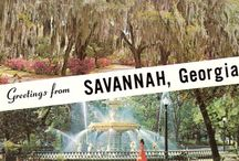 The Beauty of Savannah, GA / by Robin McCoy-Ramirez