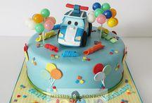 gâteau d'anniversaire / Idée de déco pour gâteaux d'anniversaire