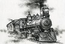 Coloring trains