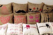 almohadones vintage