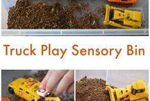 Sensory play / Construction site