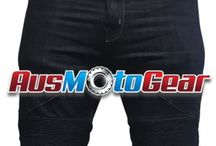 Motorcycle DuPont Kevlar Lined Jeans