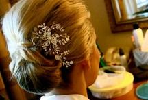 Wedding hairdo's