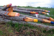 Landart/environmental art / Landskap og kunst